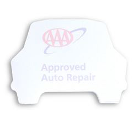 Picture of Car Shaped Sticky Note Pad