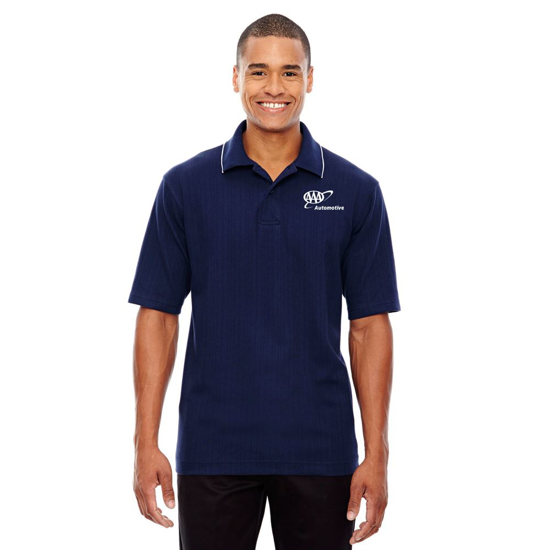 Picture of Mens Contrast Trim Polo