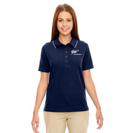 Picture of Ladies' of Contrast Trim Polo