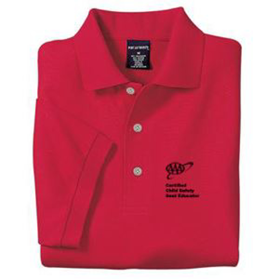 Picture of Solid Red Polo Shirt