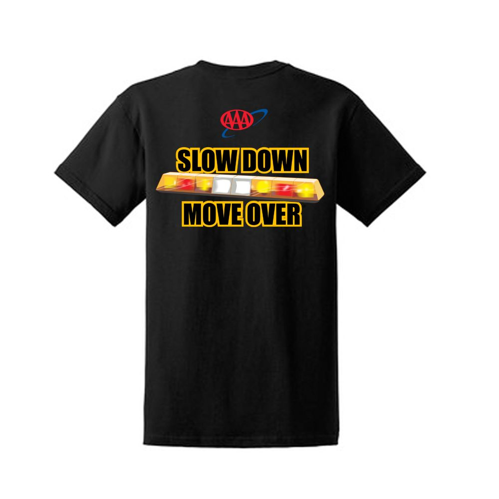 """Picture of """"Slow Down Move Over"""" T-Shirt"""