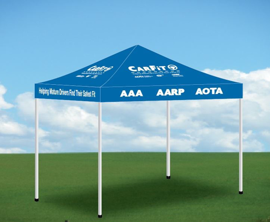 Picture of EZ Up Event Tent, 10'X10'