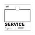 Picture of Service Department Hang Tags - No Numbering - 1,000 per pack