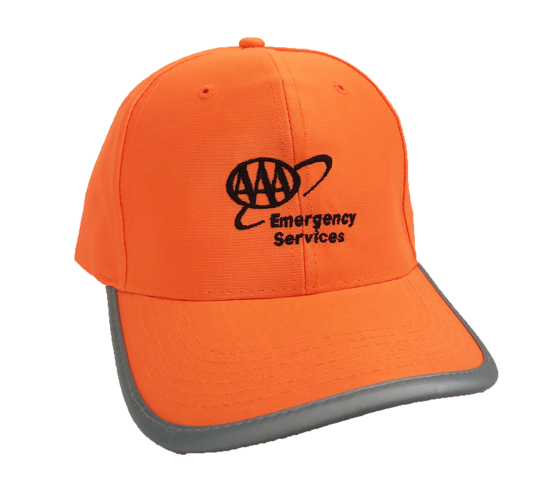 Picture of Safety Orange Cap - AAA Emergency Services